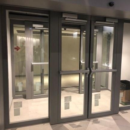 Fire Resistant Glass Automatic Sliding Doors - 3