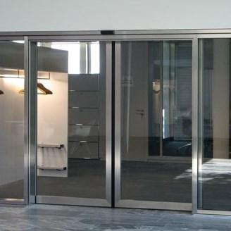 Fire Resistant Glass Automatic Sliding Doors - 4