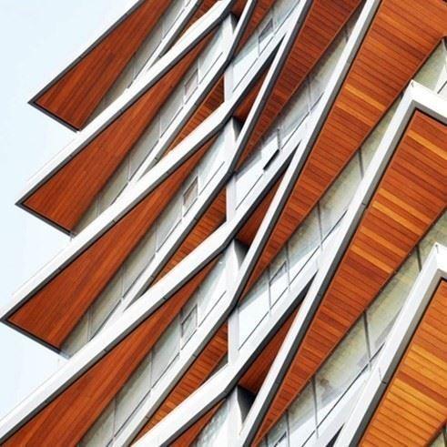Façade Cladding | Technowoodsiding ALU A2
