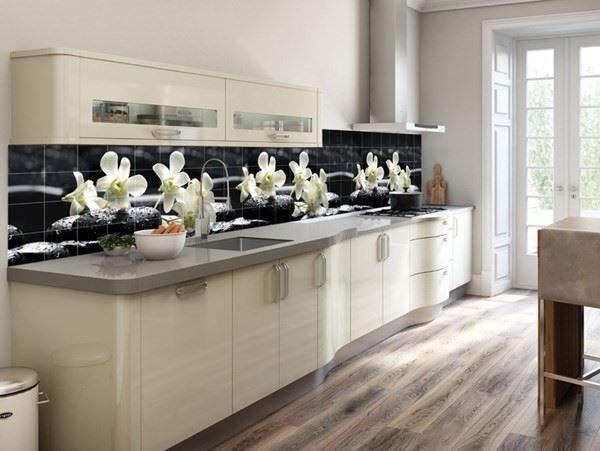 Baskılı Özel Tasarım Mutfak Fayansları