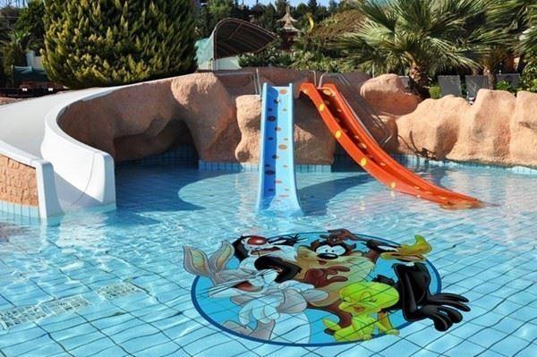 Baskılı Özel Tasarım Havuz Fayansları