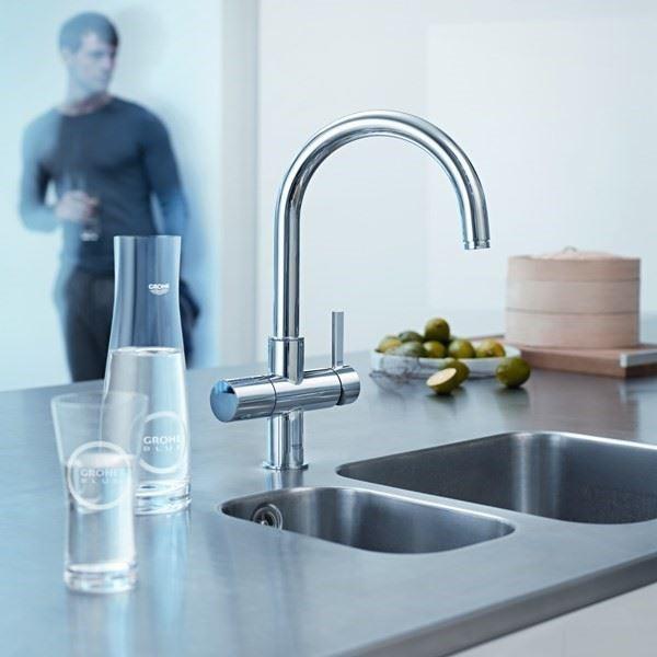 Mutfak Bataryası/Blue®UltraSafe Pure Su Sistemi