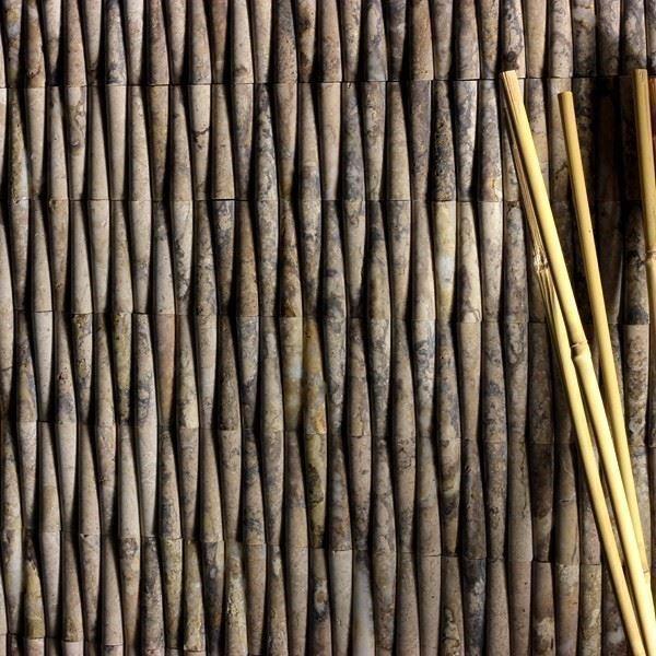 Doğal Taş Duvar Kaplaması/Bamboo Silvercity Onyx