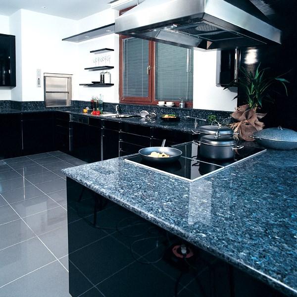 Füme - Siyah Granit/Blue Pearl GT