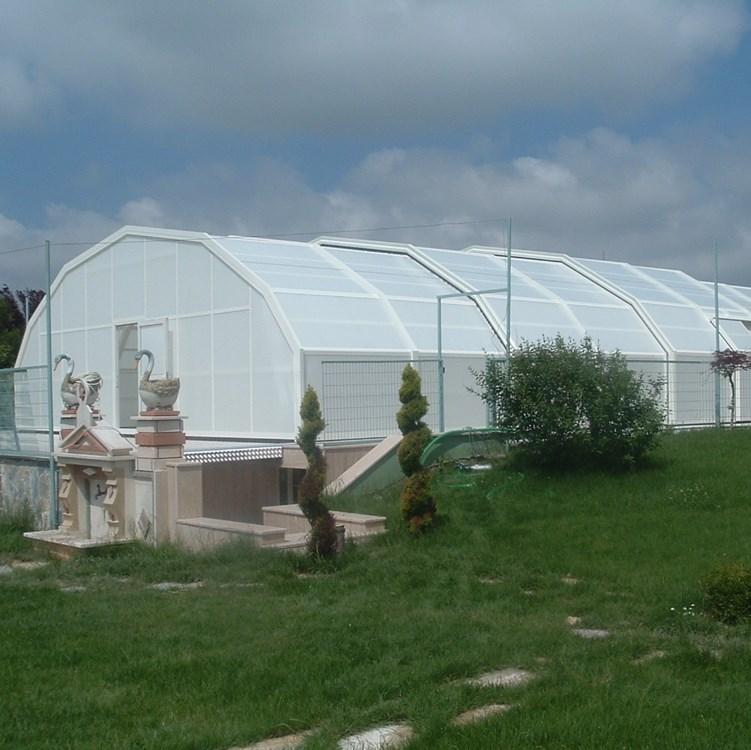 Teleskopik Havuz Kapama Sistemleri - 0
