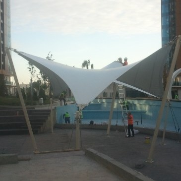 Architectural Stretching Membrane - 1