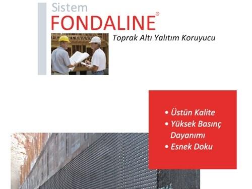 Fondaline Toprak Altı Yalıtım Koruyucu Broşürü