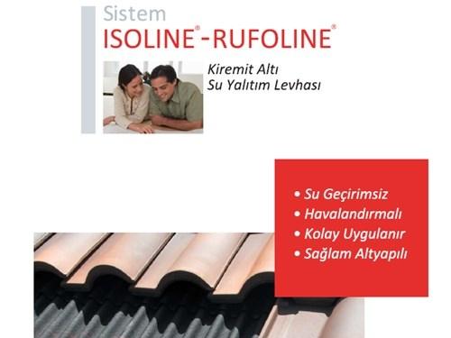 Isoline & Rufoline Kiremit Altı Su Yalıtım Levhası Broşürü