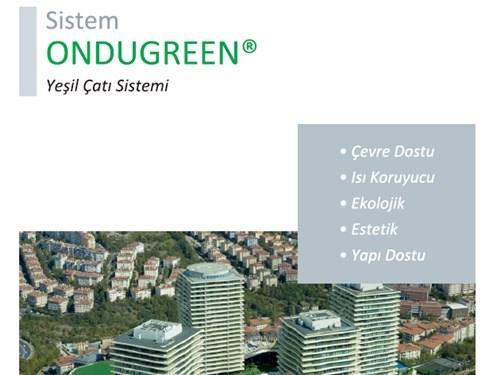 Ondugreen Yeşil Çatı Sistemi Broşürü