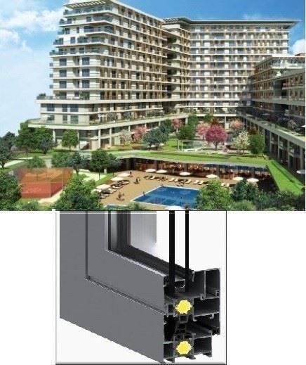 Alüminyum Kapı-Pencere Sistemi
