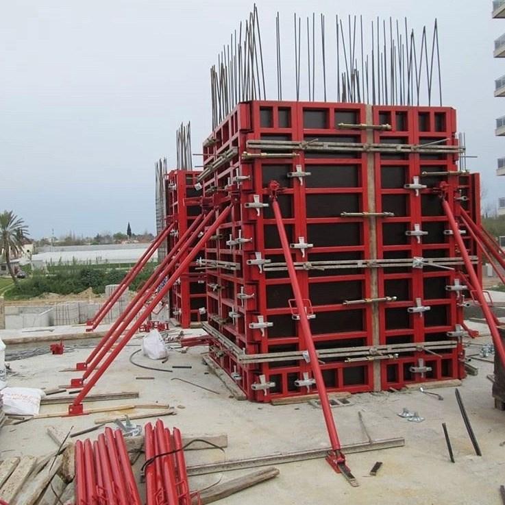 Çelik Çerçeveli Panel Kalıp/Goldpan