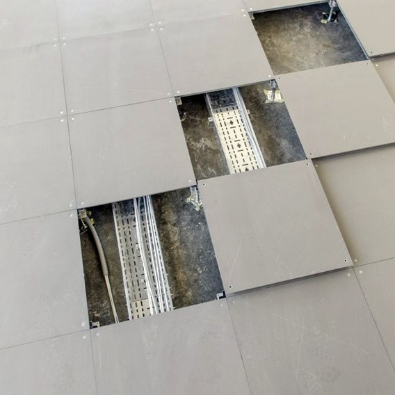 Access Floor Systems | Calcium Sulphate Cored Encapsulated Panel - 0