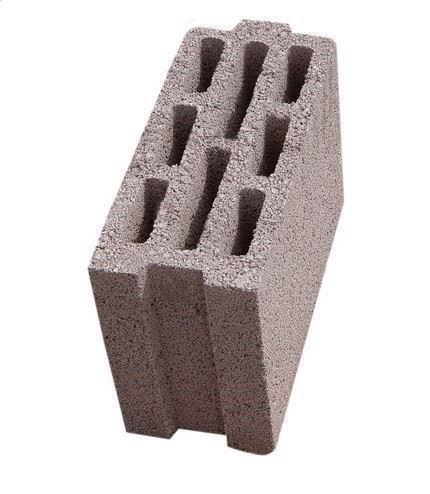 Lamba-Zıvanalı (Geçmeli), Taşıyıcı Olmayan, Hafif Agregalı, Beton Kâgir Duvar Blokları