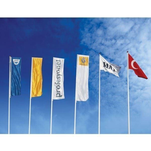 Fiberglas Bayrak Direği