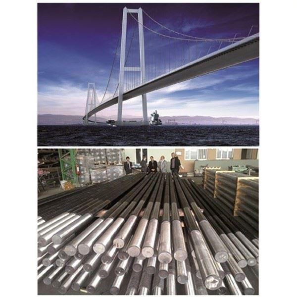 Anchor Bolts for Suspension Bridge Piers