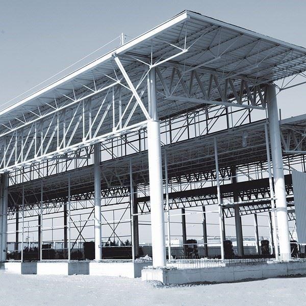 Çelik Konstrüksiyon Fabrika Binası