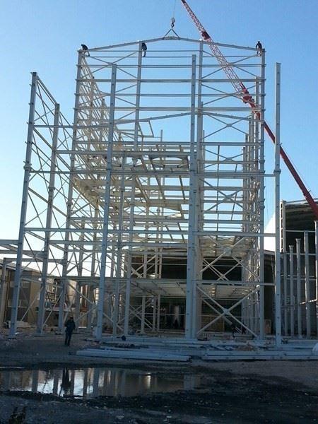 Çelik Konstrüksiyon Endüstriyel Yapı