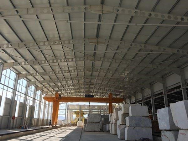 Çelik Konstrüksiyon Depo