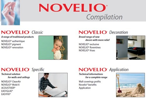 Novelio Decorative Wall Coverings