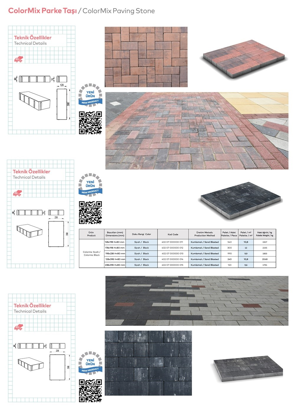 Paving Stones and Bordures - 1
