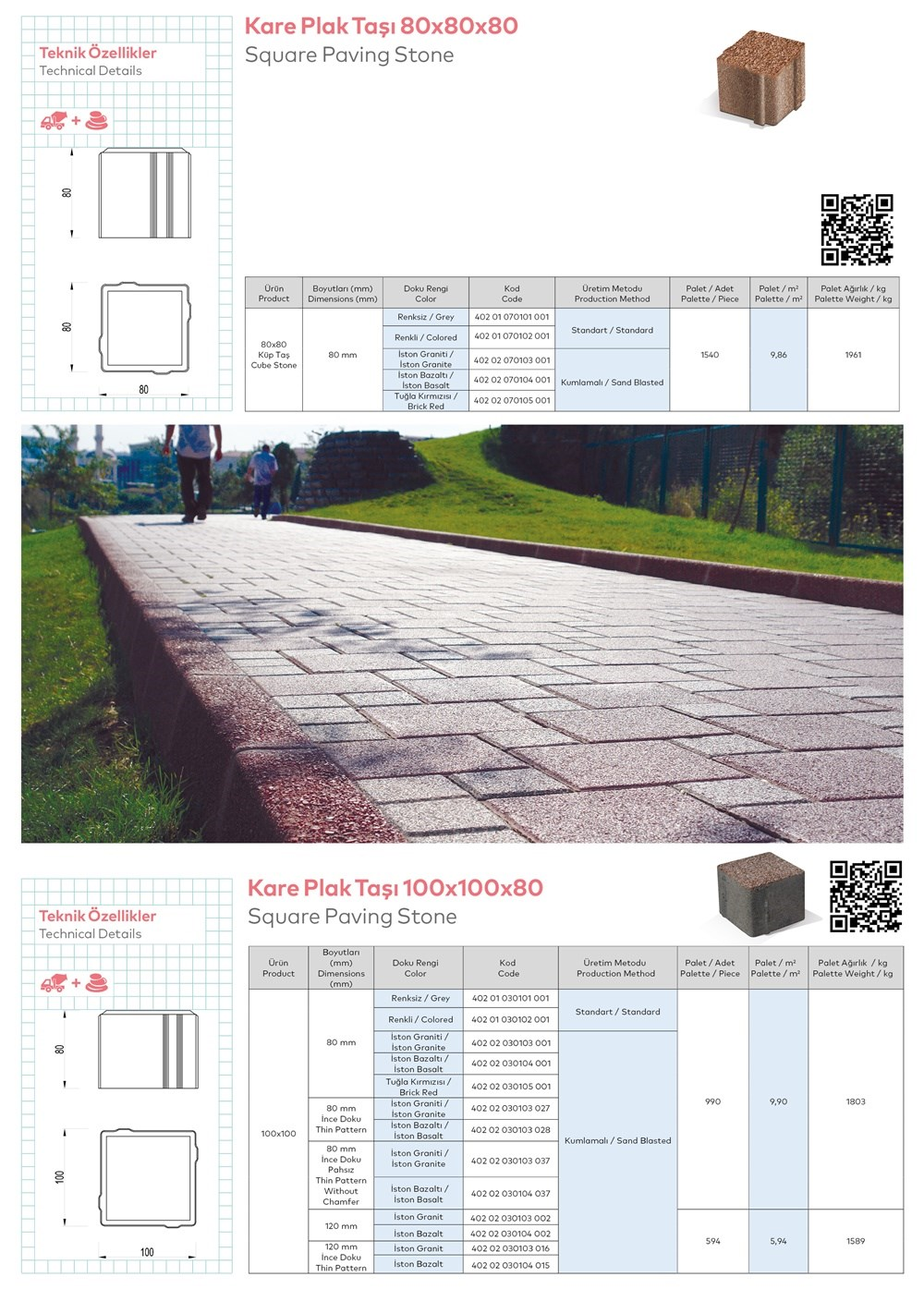Paving Stones and Bordures - 2