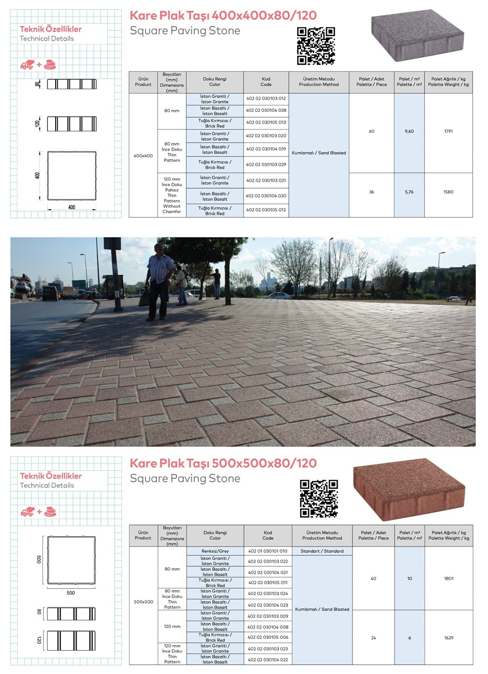 Paving Stones and Bordures - 4