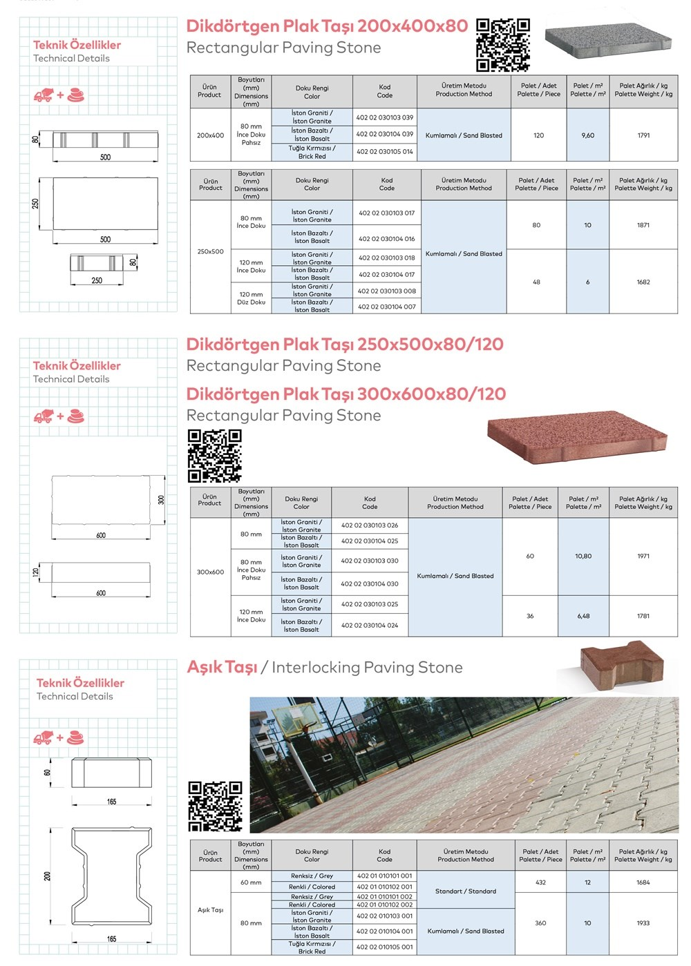 Paving Stones and Bordures - 6