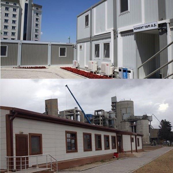 Ön Üretimli Çelik Konstrüksiyon Bina, Konteyner, GSM ve Shelterler, Prefabrike Atölye, Depo-Hangar, Spor-Sağlık Hizmet Binaları