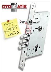 Otomatik Kilitlemeli Çelik Kapı Kilidi/252 RA