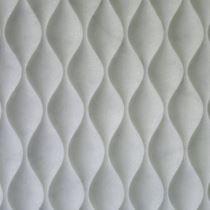 3 Boyutlu Doğal Taş Duvar Paneli/Beyaz Mermer