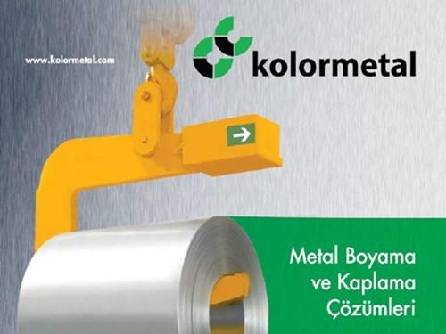 Kolormetal Metal Boyama ve Kaplama Çözümleri Kataloğu