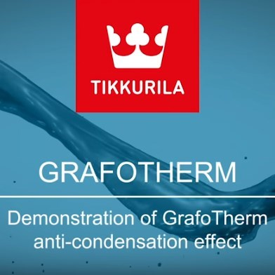 Tikkurila GrafoTherm Demonstration Video
