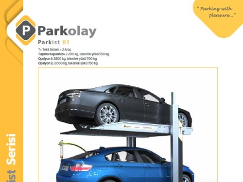 Parkist 01 Mekanik Otopark Sistemi Ürün Teknik Dosyası (TR)