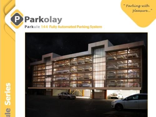 Parkule 144 Tam Otomatik Otopark Sistemi Ürün Teknik Dosyası (EN)