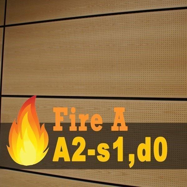 Yangına Dayanıklı Akustik Duvar Paneli