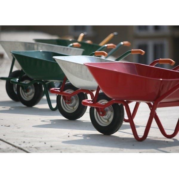 Wheelbarrow, Wheelbarrow Wheel, Wooden Handle, Shovel, Rake, Hoe