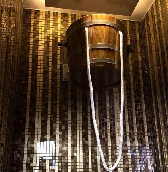Şok Duş ve Şok Kovası - SPA Wellness Tasarım, Proje Uygulama ve Donanımları