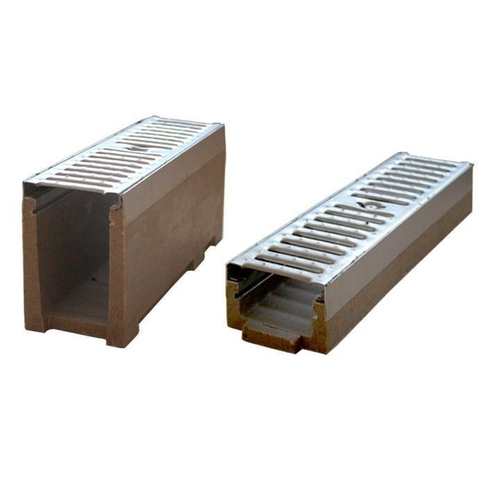 Polymer Concrete Drainage Channel | KC Edge Type