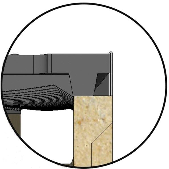 Polymer Concrete Drainage Channel   KC Edge Type - 0