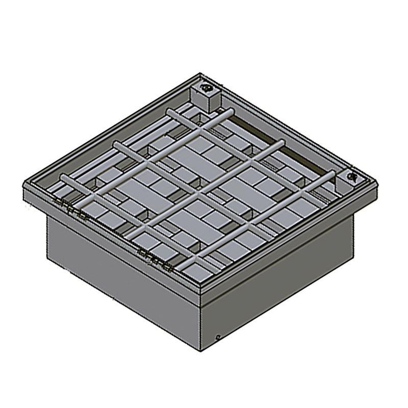 Steel, Stainless Steel, Aluminum Manhole Covers - 5