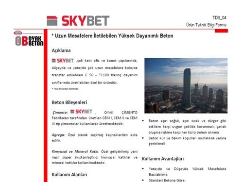 Skybet® Ürün Broşürü