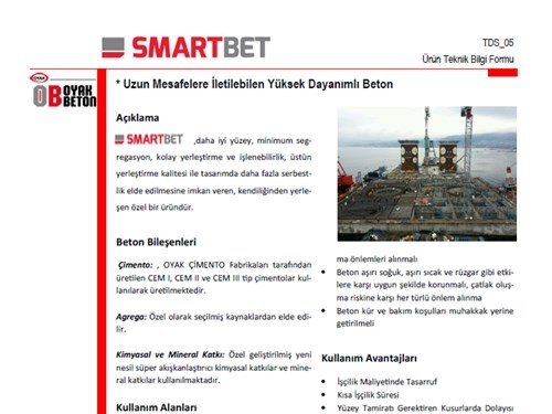 Smartbet® Ürün Broşürü