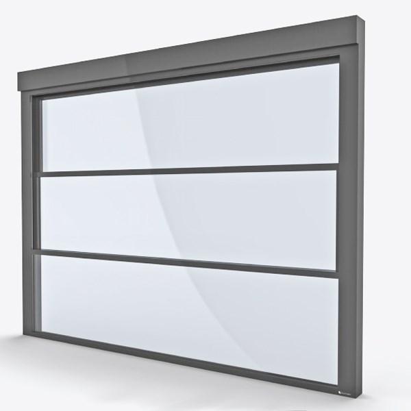 Motorlu Alüminyum Giyotin Pencere Sistemleri