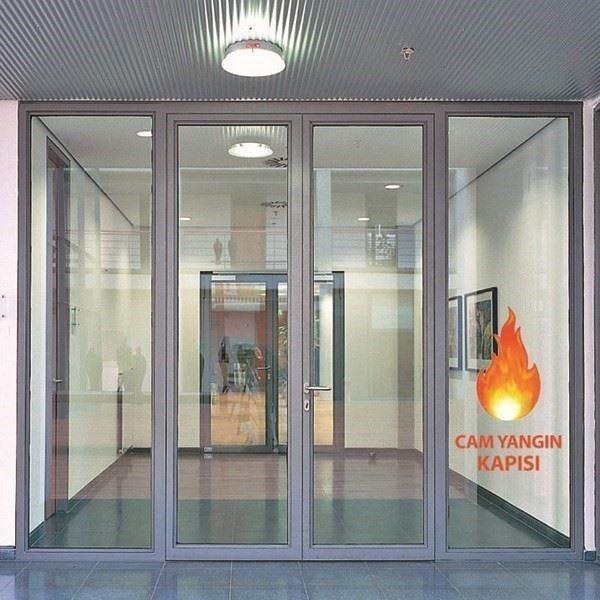 Yangına Dayanıklı Cam Kapı/Economy Janisol