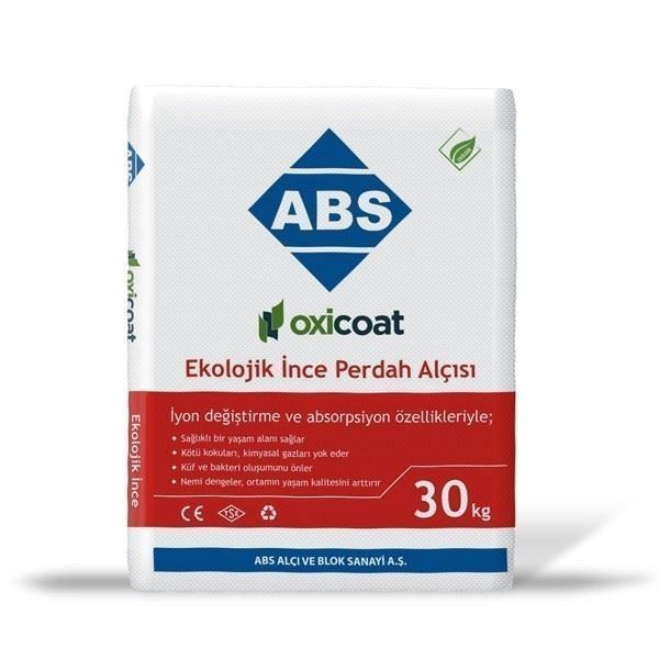 Ekolojik İnce Perdah Alçısı/ABS Oxicoat