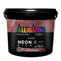 Alligator Neon Silk