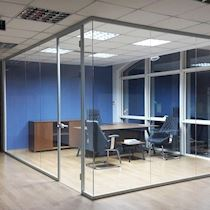 Glass Partition System/Vetro