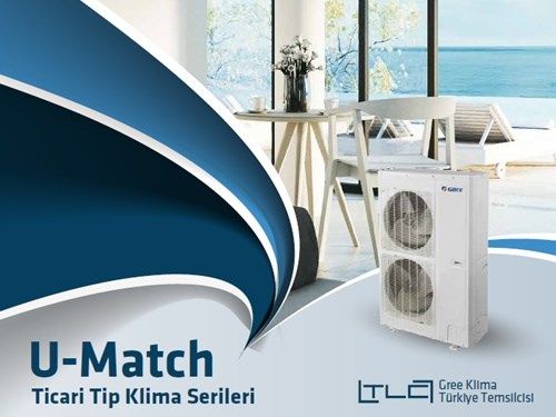 U-Match Commercial Type Air Conditioner Series Catalog