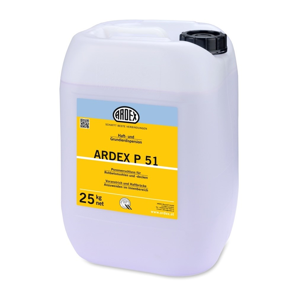 ARDEX P 51 Primer for Absorbent Surfaces - Concentrated