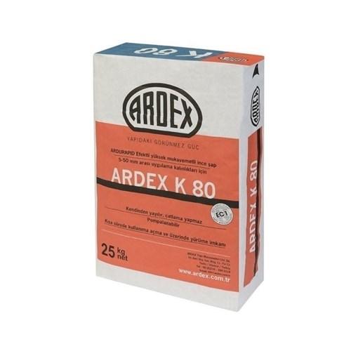 Kendinden Yayılan Yüksek Mukavemetli Şap/ARDEX K 80